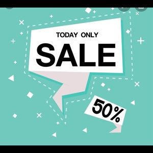 Friday 10/30/2020 50% off everything